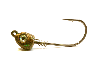 Copper Inshore Slammer Jig Head