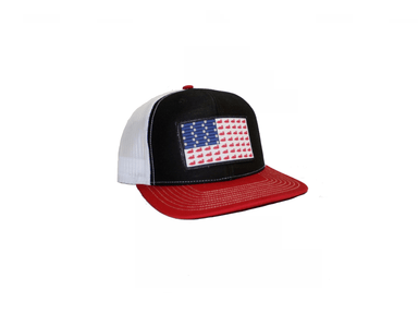 Ducks And Bullets Flag Patch Trucker Hat | East Coast Waterfowl - Hunting and Fishing Depot