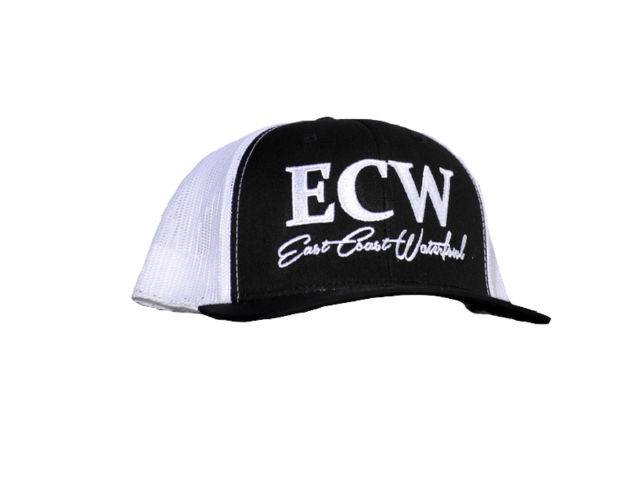 East Coast Waterfowl Flexfit Snap Back Black/White
