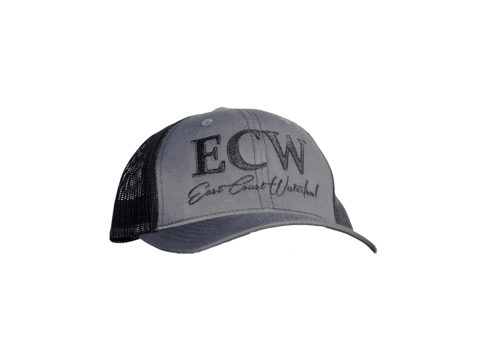 East Coast Waterfowl Mesh Snap Back Grey/Black