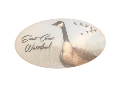 ECW Goose Decal | East Coast Waterfowl - Hunting and Fishing Depot