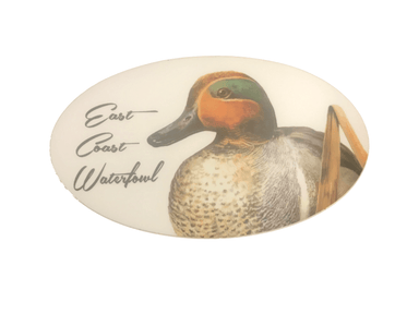ECW Green Winged Teal Decal | East Coast Waterfowl - Hunting and Fishing Depot