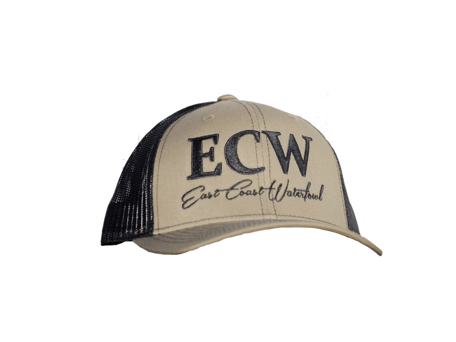 East Coast Waterfowl Mesh Snap Back Loden/Black