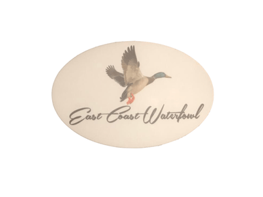 ECW Mallard Decal | East Coast Waterfowl - Hunting and Fishing Depot