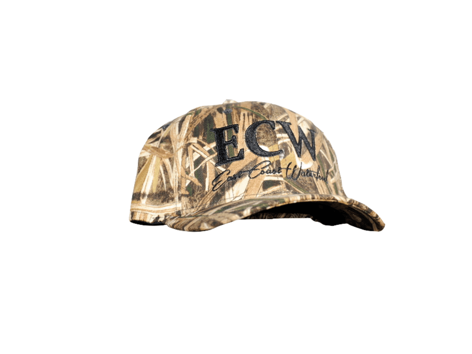 East Coast Waterfowl Mossy Oak Blades Fitted Camo Hat - Hunting and Fishing Depot