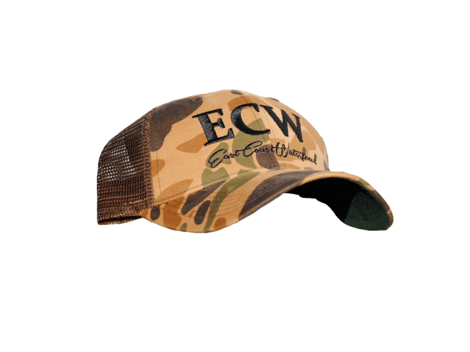 East Coast Waterfowl Old School Camo Hat