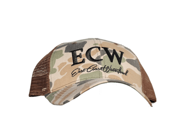 "East Coast Waterfowl ""Old School"" Camo Snap Backs - Hunting and Fishing Depot"