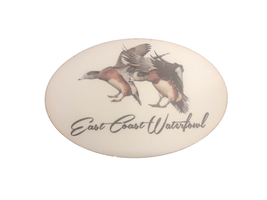 ECW Wigeon Decal | East Coast Waterfowl - Hunting and Fishing Depot