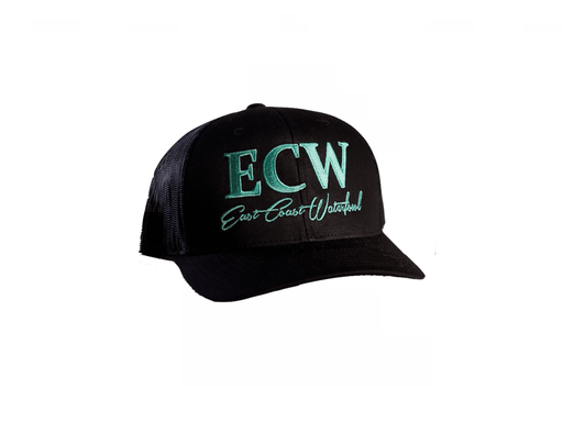 ECW All black/seafoam Green