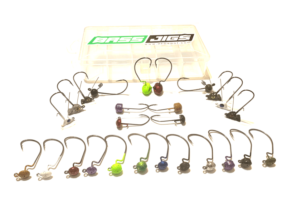 Finesse Bass Fishing Jig Kits