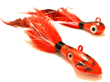 Fire Red Cobia Jigs