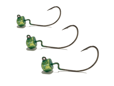 Flashy Bass EWG Ned Rig Jig Heads 3pk