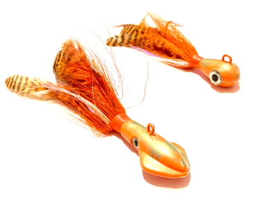 Florida Orange Cobia Jigs