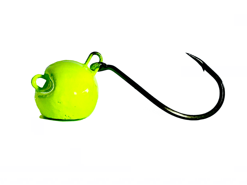 Green Chartreuse Sheepshead Jigs - Hunting and Fishing Depot