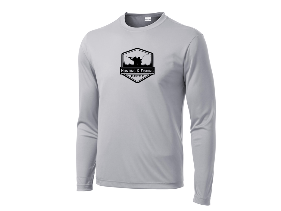Grey Performance Shirt | Hunting and Fishing Depot - Hunting and Fishing Depot