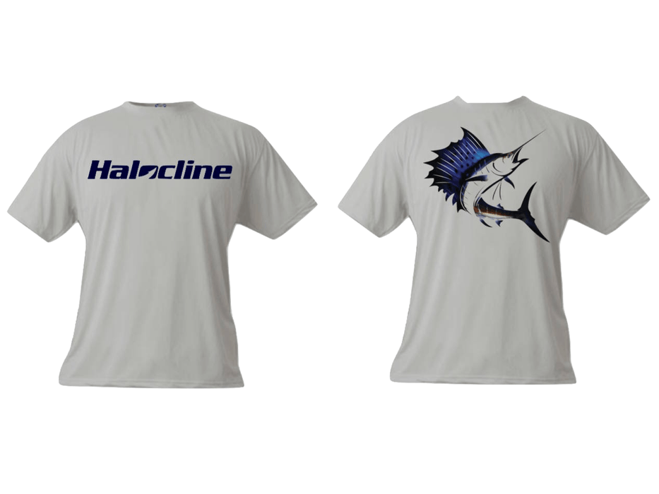 Halocline Sailfish Performance T-shirt - Hunting and Fishing Depot