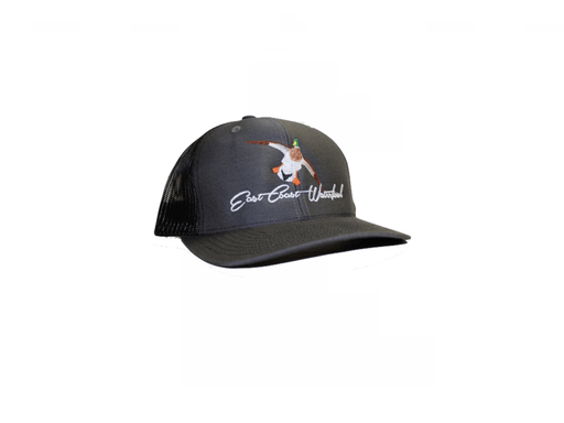 Mallard Trucker Hat | East Coast Waterfowl Grey/Black