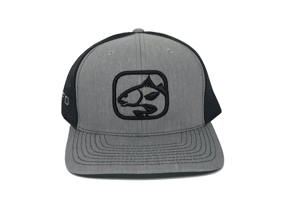 Heather Grey/Black Redfish Hat | HFD