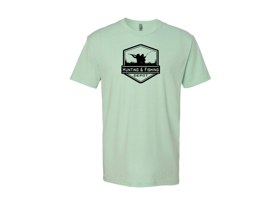 Mint Hunting and Fishing Depot T-shirt - Hunting and Fishing Depot