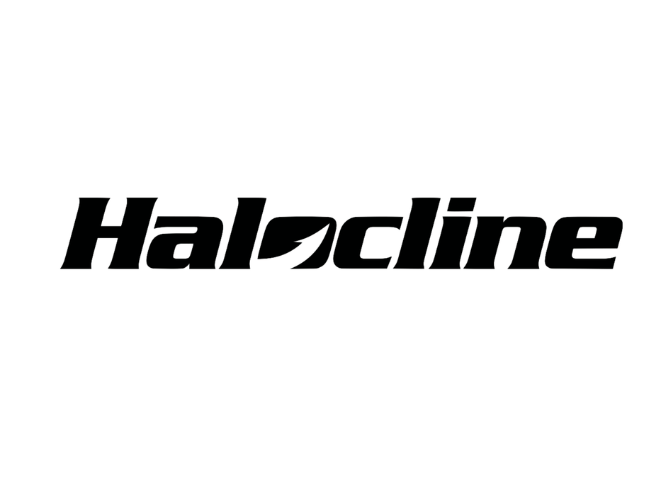 Halocline Logo Decal - Hunting and Fishing Depot