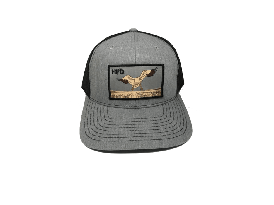 Heather Grey/Black Goose Hat For Snow Goose Hunting