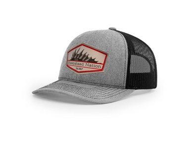 Heather Grey / Black Sheepshead Nation Hat - Hunting and Fishing Depot