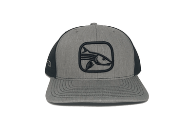 Heather Grey / Navy Bonefish Hat