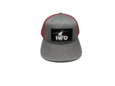 Heather Grey / Red Pintail Hat