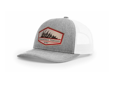 Heather Grey / White Sheepshead Nation Hat - Hunting and Fishing Depot