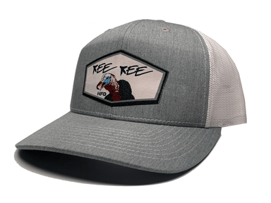 Heather Grey / White Kee Kee Turkey Hat - Hunting and Fishing Depot
