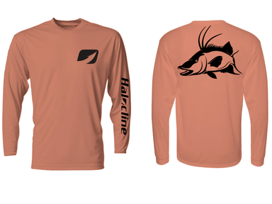 Hogfish Fishing Performance Shirt Halocline Salmon