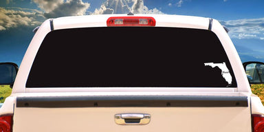 Hunt Florida Decal On Truck Back Window