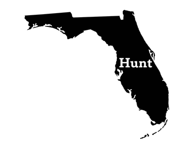 Hunt Florida Decal - Hunting and Fishing Depot