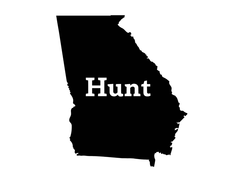 Hunt Georgia Decal - Hunting and Fishing Depot
