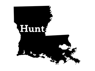 Hunt Louisiana Decal - Hunting and Fishing Depot