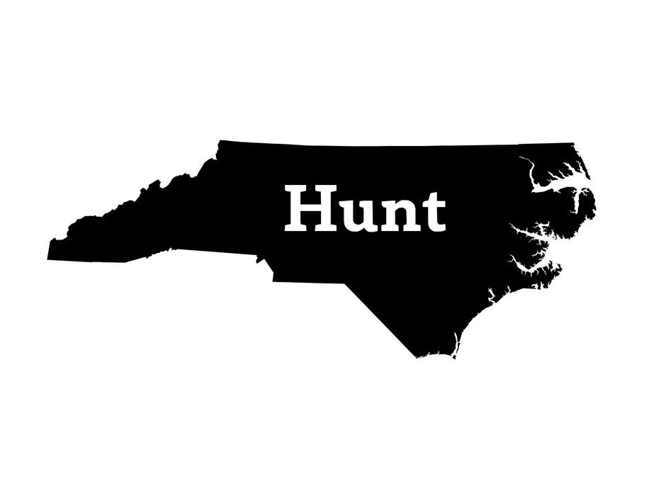 Hunt North Carolina Decal - Hunting and Fishing Depot