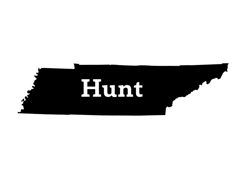 Hunt Tennessee Decal - Hunting and Fishing Depot