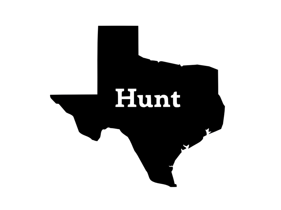 Hunt Texas Decal | Hunting and Fishing Depot