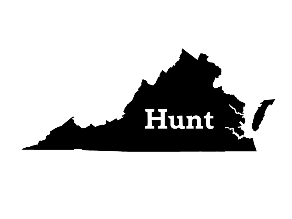 Hunt Virginia Decal - Hunting and Fishing Depot
