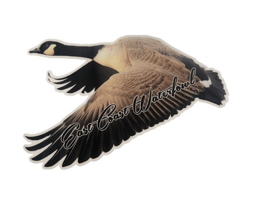 Flying Goose Decal | East Coast Waterfowl - Hunting and Fishing Depot