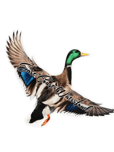 Flying Mallard Decal | East Coast Waterfowl - Hunting and Fishing Depot