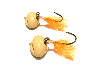 Swinging Pompano Jigger Fleas: Sand Flea Jigs - Hunting and Fishing Depot