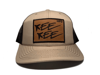 Khaki / Brown Kee Kee Turkey Logo Hat - Hunting and Fishing Depot