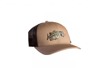 Largemouth Bass Trucker Hat | East Coast Waterfowl