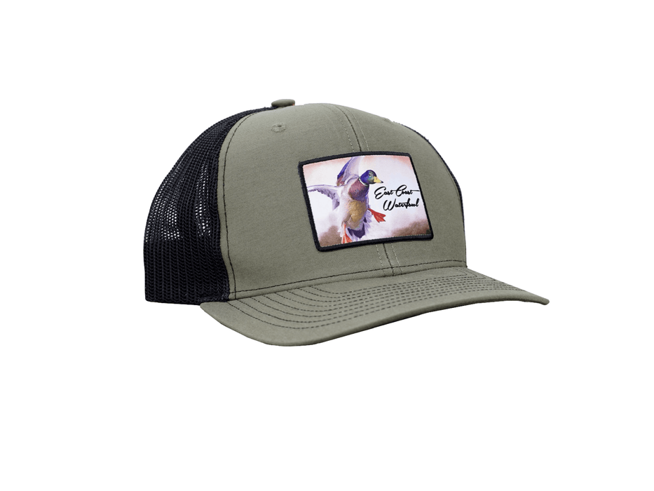 Loden/Black Drake Mallard Duck Trucker Hat