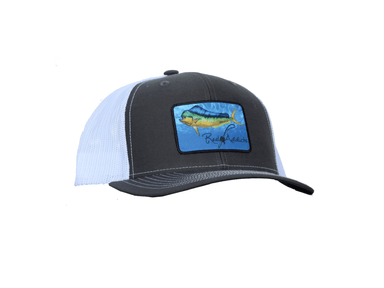 Mahi Snap Back Charcoal/White | Reel Addicts