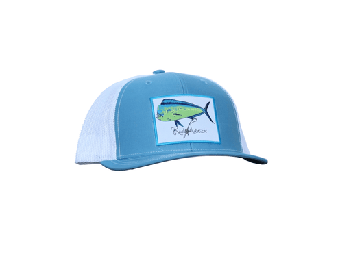 Mahi Snap Back Columbia Blue/White | Reel Addicts