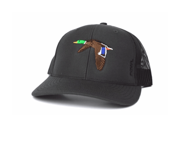 Grey/Black Mallard Snapback | Fowl | Hunting and Fishing Depot