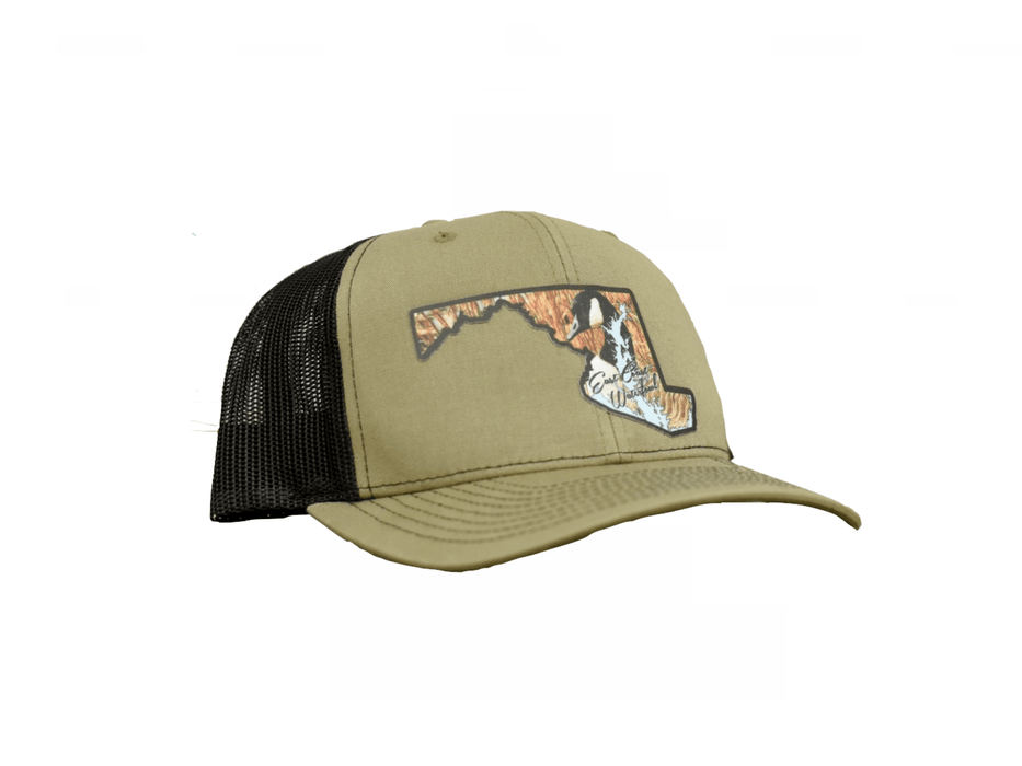 Maryland Goose Trucker Hat | East Coast Waterfowl