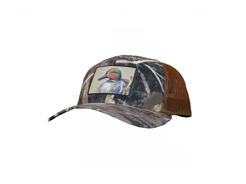 East Coast Waterfowl Max5 Green-Winged Teal Patch (No ECW Logo) Snap Back - Hunting and Fishing Depot